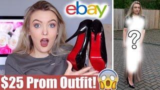 $25 Ebay Prom Dress Challenge! *HUGE SUCCESS!!*