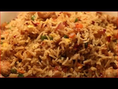 How to make chinese chicken fried rice youtube how to make chinese chicken fried rice mia kitchen ccuart Choice Image
