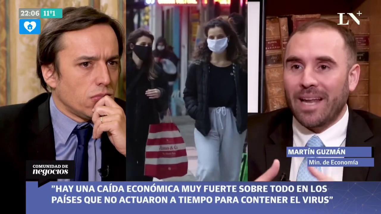 """Martin Guzman responde todo sobre la deuda: """"Hay acreedores que ya nos acompañan"""""""
