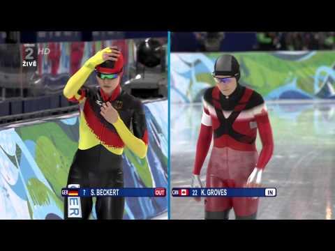 Martina Sáblíková  3000m   ZLATO   ZOH Vancouver 2010 @ 1080i H 264