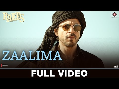 Zaalima - Full Video | Raees | Shah Rukh Khan & Mahira Khan | Arijit Singh & Harshdeep Kaur | JAM8