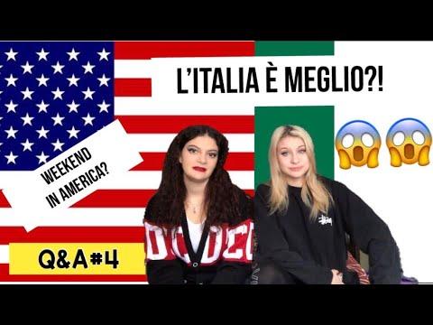 L'ITALIA È MEGLIO? COSA FANNO GLI AMERICANI NEL WEEKEND? Q&A #4