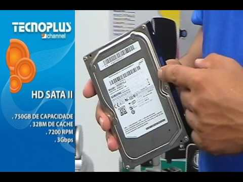 TECNOPLUS CHANNEL - HD SERIAL ATA II SAMSUNG 750GB 7200RPM