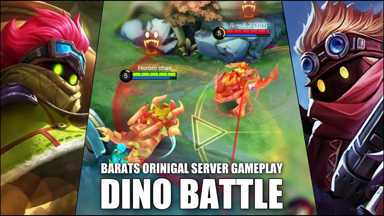 DINOSAURS ESCAPED FROM JURASSIC PARK! BARATS GAMEPLAY!