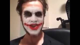 Aras Bulut İynemli - Joker taklidi