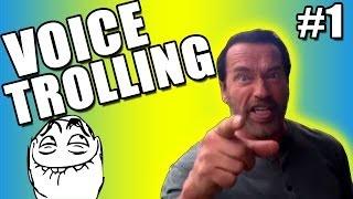 "★COD Ghosts Trolling - ""Funny Arnold Schwarzenegger Impression"" Ep.1 (Call of Duty Voice Troll)"
