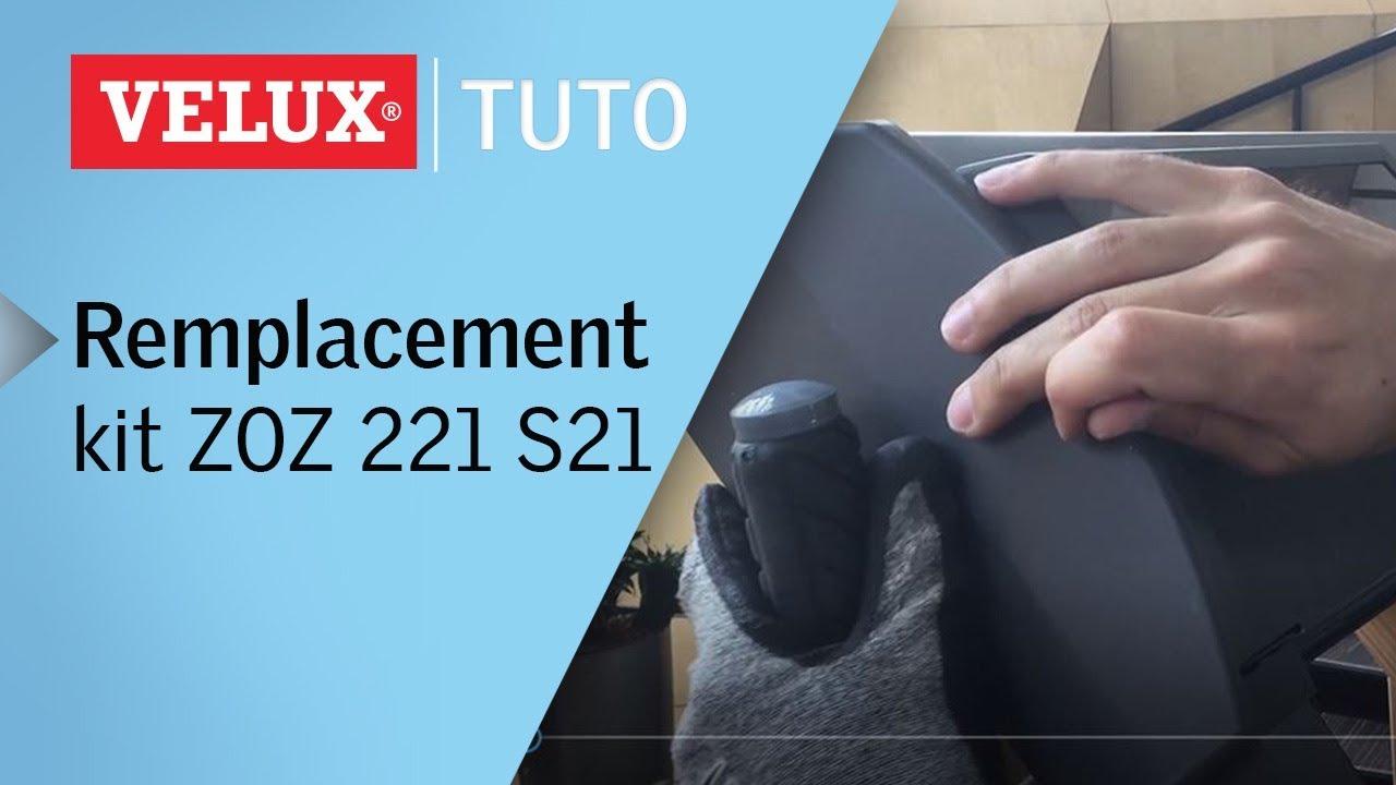 Remplacer Le Kit Zoz 221 S21 Dun Volet Roulant Ssl Velux