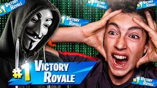 Hacker teaches me a trick to always win in Fortnite... *amazing*