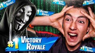Hacker me enseña un truco para ganar siempre en Fortnite... *increíble*