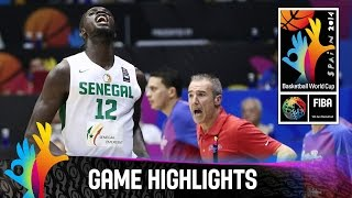 Senegal v Puerto Rico - Game Highlights - Group B - 2014 FIBA Basketball World Cup