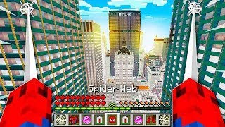 HOW TO PLAY AS SPIDERMAN in MINECRAFT!