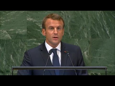 France – President Addresses General Debate, 73rd Session