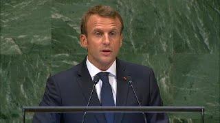 🇫🇷 France – President Addresses General Debate, 73rd Session
