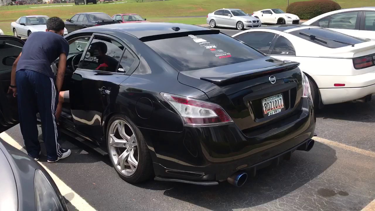 2010 Nissan maxima SV Sport with Uprev Tune - YouTube
