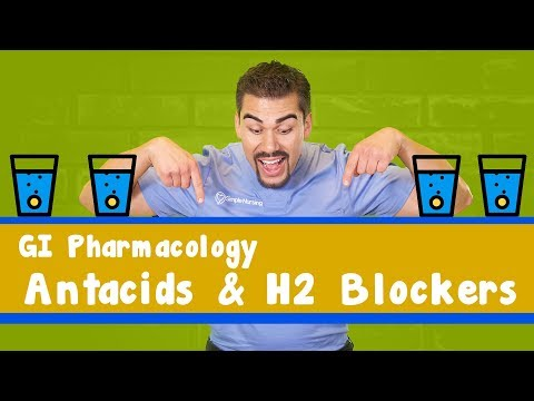 GI Acid Medication *Part 1* (Anti-Acids + H2 Blockers)