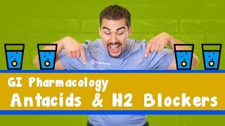 GI Acid Medication Part 1 (Anti-Acids + H2 Blockers)