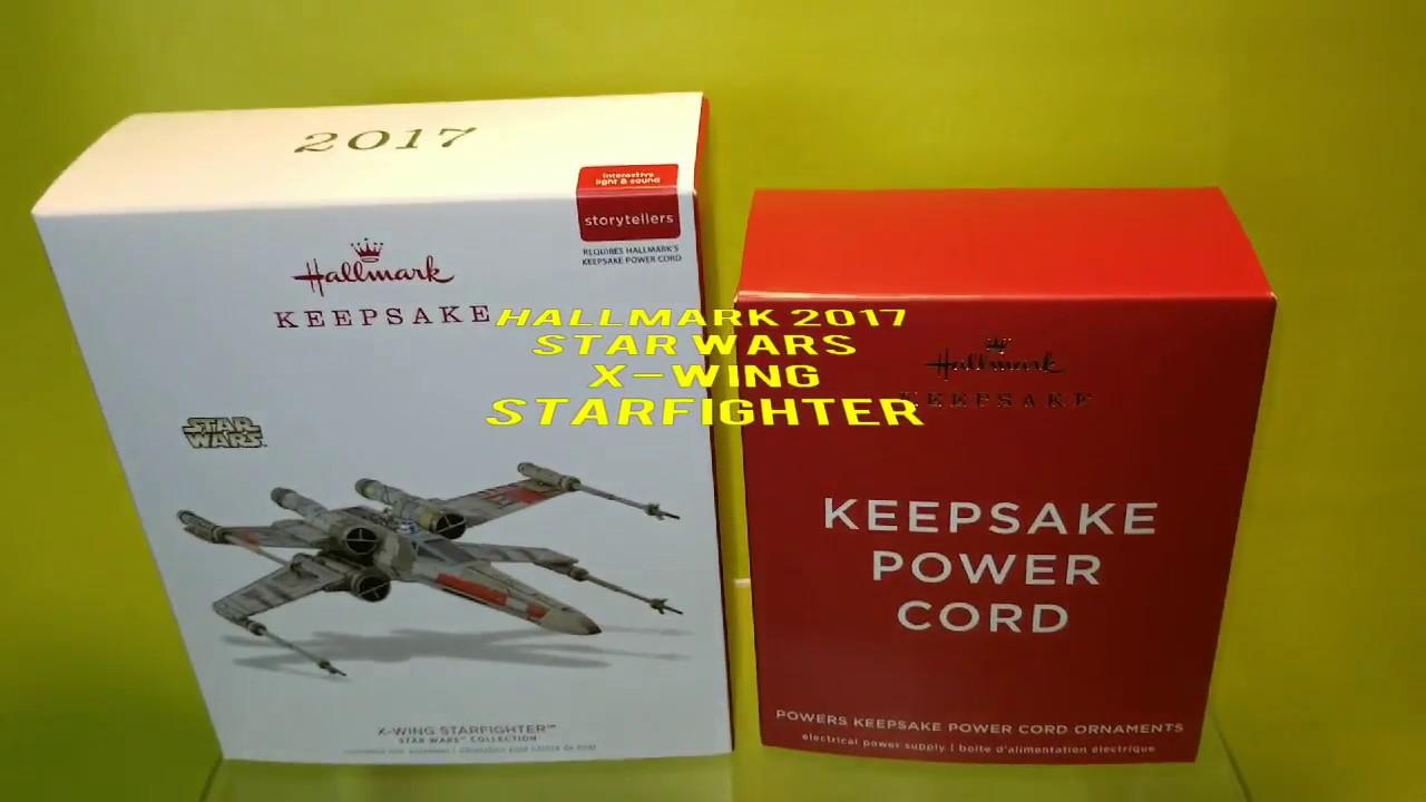 Hallmark Keepsake Star Wars X-Wing Starfighter Storytellers Ornament