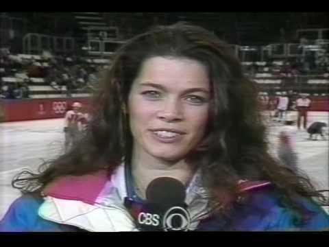 Interview with Nancy Kerrigan (USA) - 1992 Albertville, Figure Skating
