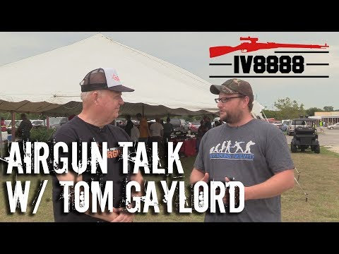 Talking Airguns with Tom Gaylord