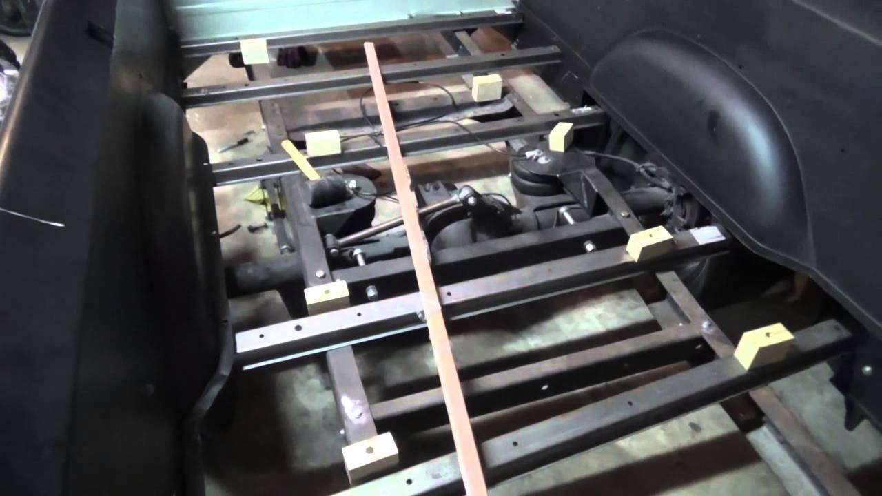 F100 03 Rear End Amp Bed Assembly Update Youtube