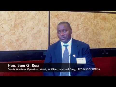 Sam G Russ, Republic of Liberia talks about the West African mining sector
