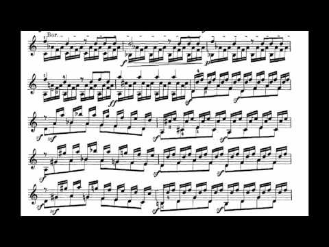 Mauro Giuliani Op.61: Grand Overture (Score Video)