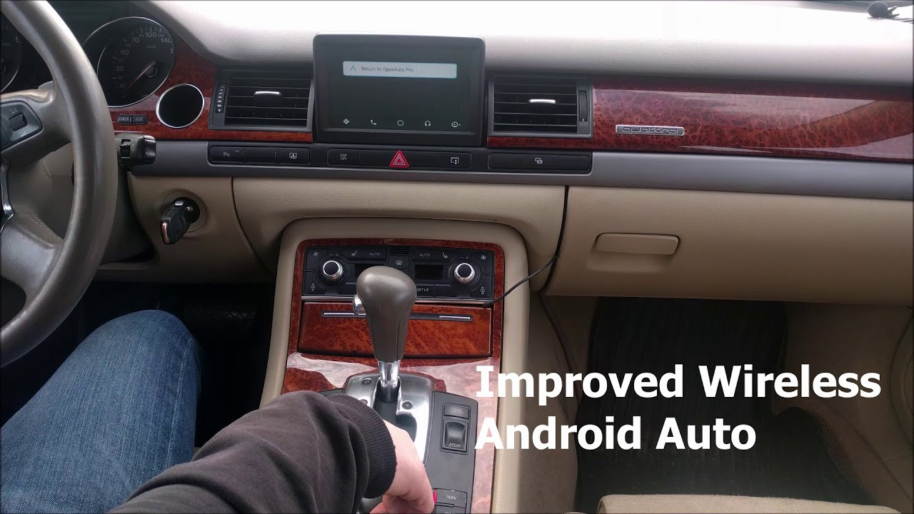 New features of the OpenAuto Pro 3 in the car, head unit