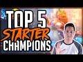 TOP 5 STARTER CHAMPIONS | Dungeon Hunter Champions