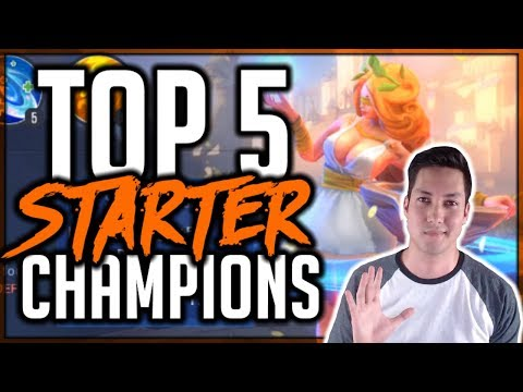 TOP 5 STARTER CHAMPIONS | Dungeon Hunter Champions