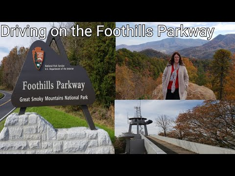 Drive On Foothills Parkway Over The Missing Link
