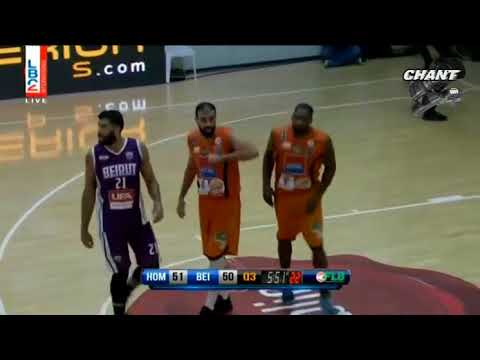Highlight  Homenetmen 89 vs 68 Beirut 17-10-2017
