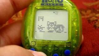 Nano Kitty - Playmates -1997 Virtual Pet