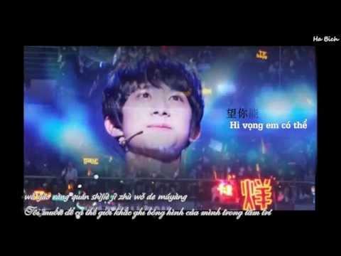 [Vietsub] [FMV] TFBoys Dịch Dương Thiên Tỉ (Jackson Yi) - Gửi em cả một đại dương sắc đỏ