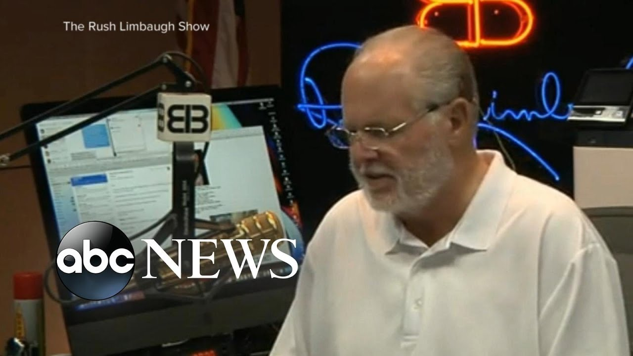 Rush Limbaugh says he's been diagnosed with lung cancer