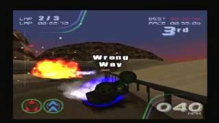 RollCage Stage II HD Gameplay on PS3