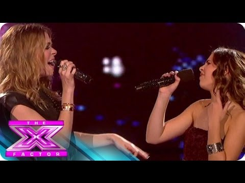 Carly Rose Sonenclar & LeAnn Rimes' Duet - THE X FACTOR USA 2012