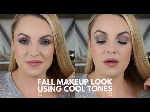 How To: Fall Makeup Using Cool Tone Shadow || Deep Set Eyes - Elle Leary Artistry