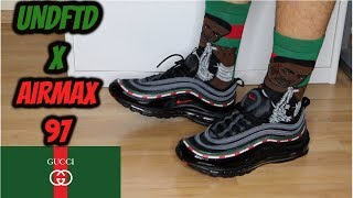 UNDEFEATED X NIKE AIR MAX 97 OG REVIEW & ON FOOT!!!
