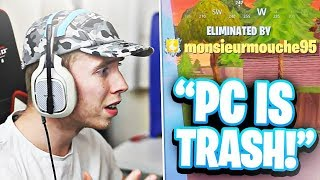 My Journey from Console to PC Fortnite... (Console to PC Fortnite Progession)