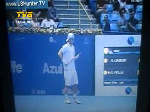 Adrian Ungur vs Guido Pella - ATP Challenger Finals 2012 (Final) - 6/9