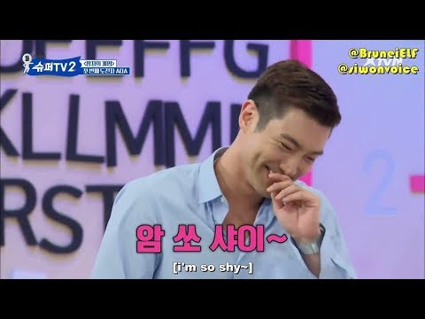 DON'T FALL IN LOVE WITH SIWON-SUPERTV EDITION -PART1