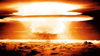 Dźwięk wybuchu bomby atomowej / Wybuch bomby atomowej nuklearnej / Alarm atomowy nuklearny