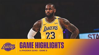 HIGHLIGHTS   LeBron James (29 Pts, 9 Reb, 7 Ast) Vs Phoenix Suns - Game 6