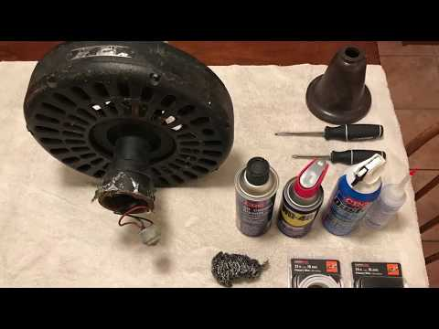 Restoring Two Hunter Original 22206 Ceiling Fans