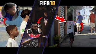Fifa 18 the journey 5 new easter eggs - new *secret hidden* fifa 18 footage revealed