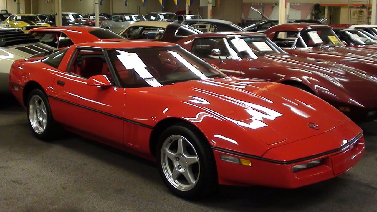 1990 Corvette ZR1 375 HP LT5 DOHC V8 - Low Mileage ...