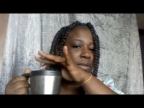 How I Seal The Ends Of My Jumbo Box Braids Youtube