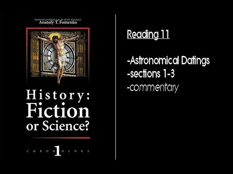 History: Fiction or Science? (reading) part 11