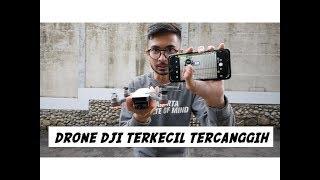 Nyobain DJI Spark, Drone Kecil Tercanggih - Indonesia #vlog 151