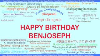 BenJoseph   Languages Idiomas - Happy Birthday